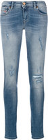 Diesel distressed skinny jeans - women - Cotton/Polyester/Spandex/Elastane - 29/32
