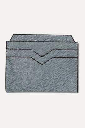 Valextra Textured-leather Cardholder