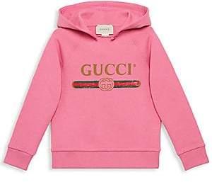 Gucci Little Girl's & Girl's Logo Hoodie