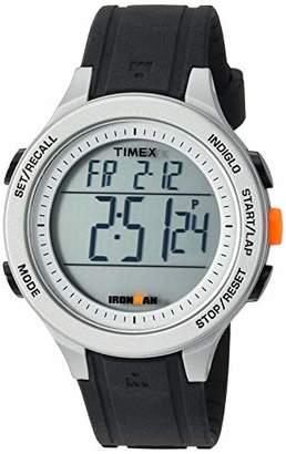 Timex Men's TW5M24600 Ironman Essential 30 Silicone Strap Watch