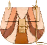 Chloé 'Drew' panelled shoulder bag - women - Calf Suede - One Size