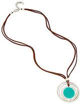 Robert Lee Morris Soho Leather Pendant Necklace