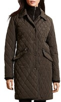 Lauren Ralph Lauren Double Collar Quilted Jacket