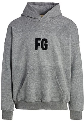 Fear Of God Chenille Embroidered Logo Hoodie