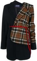 Jacquemus checked asymmetric blazer