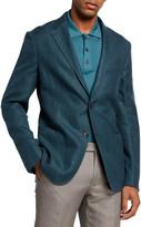 Ermenegildo Zegna Men's Twill Two-Button Blazer