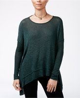 Free People Asymmetrical Open-Back Hacci Top