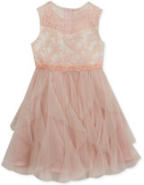 Rare Editions Rose Tulle Party Dress, Toddler Girls (2T-5T)