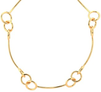 Tohum Design Dunya Samoa 24kt gold-plated necklace