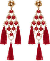 Micah Tassel Diamond Drop Earring
