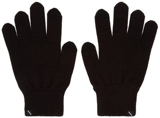 Saturdays NYC Black Dylan Gloves