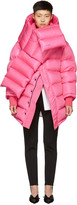 Balenciaga Pink Outerspace Puffer Jacket