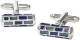 Johnston & Murphy Block Cylinder Cufflinks