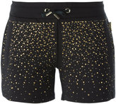 Versace studded shorts - women - Cotton/Spandex/Elastane - XS