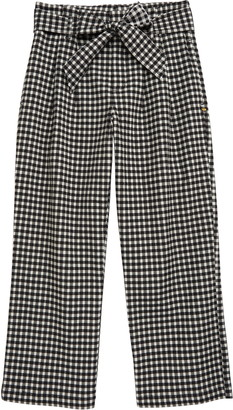 Scotch R'Belle Check Wide Leg Pants