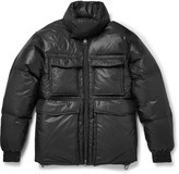 Acne Studios Minus Quilted Shell Hooded Down Jacket