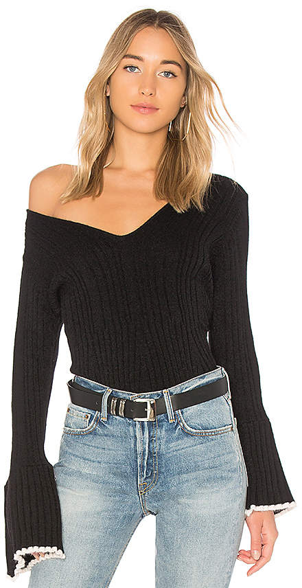 Central Park West Bourbon Street Bell Sleeve Sweater