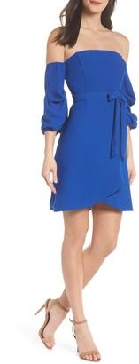 19 Cooper Cold Shoulder Tie Dress