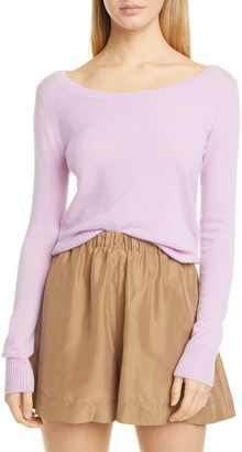 Vince Ballet Neck Cashmere Sweater