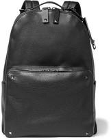 Valentino Studded Full-Grain Leather Backpack