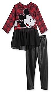 Pippa & Julie x Disney Girls' Mickey Tunic & Leggings Set - Baby