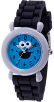 Sesame Street Boys Black Strap Watch-Wss000030