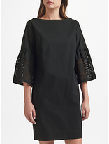Lauren Ralph Lauren Kadijah Laser Cut Shift Dress, Polo Black
