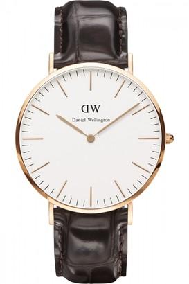 Daniel Wellington Mens York 40mm Watch DW00100011