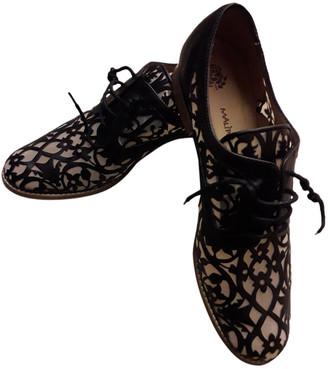 Maliparmi Black Leather Flats