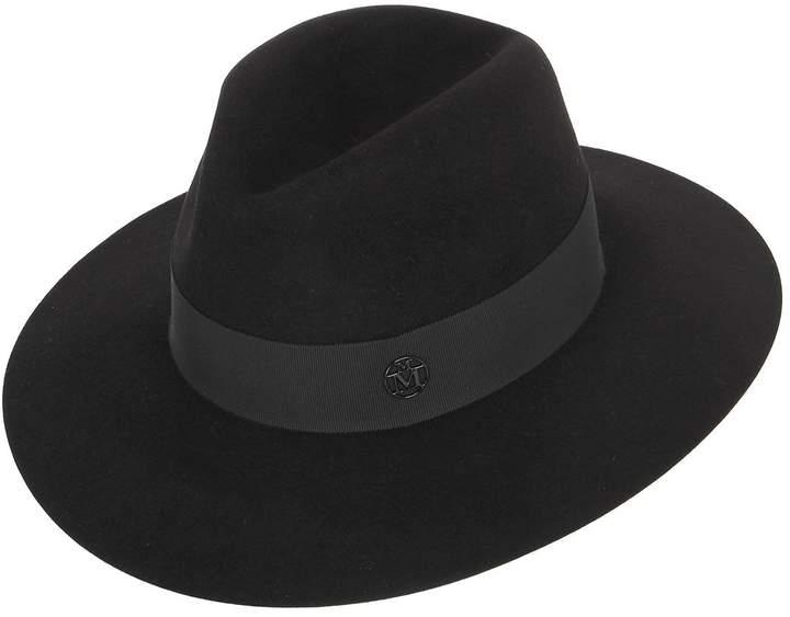 Maison Michel Henrietta Rabbit Fur Felt Hat