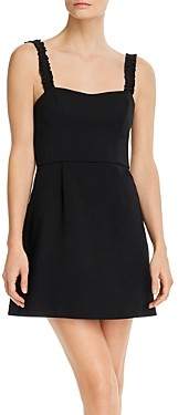 French Connection Frill Sleeveless Mini Dress