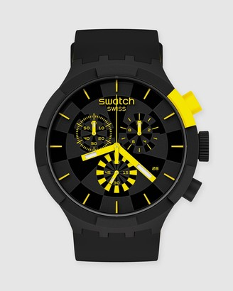 Swatch Men's Yellow Analogue - CHECKPOINT YELLOW - Size One Size at The Iconic