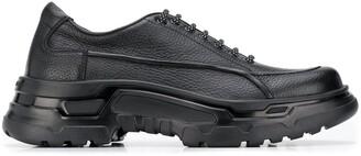 Giorgio Armani Lace-Up Chunky Sole Sneakers