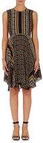 A.L.C. Women's Hartman Silk Crepe Dress-BROWN
