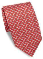 Salvatore Ferragamo Graphic Silk Tie