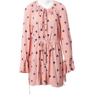 Stine Goya Pink Polyester Dresses