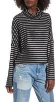 BP Women's Bell Sleeve Stripe Top
