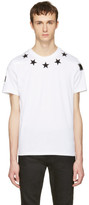 Givenchy White Stars T-Shirt