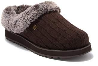 Skechers Keepsakes Ice Angel Faux Fur Trimmed Slipper