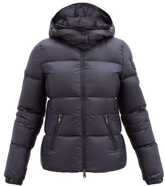 Moncler Fourmi Hooded Down-filled Coat - Navy