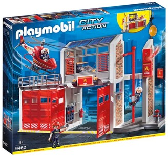 Playmobil City Action Fire Station with Fire Alarm