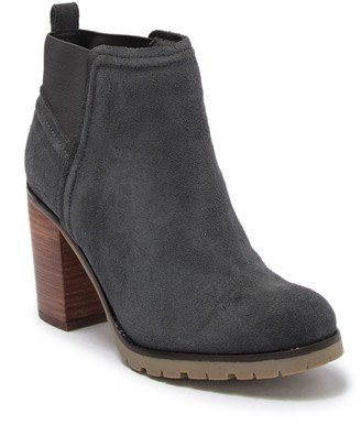 Crevo Charliee Suede Block Heel Ankle Boot