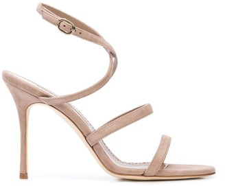 Manolo Blahnik Strapped Open-Toe Sandals