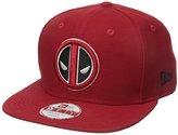 New Era Cap Men's Block Back Deadpool 9Fifty Snapback Cap