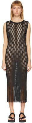 Issey Miyake Black Netting Dress