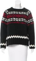 Suno Wool Patterned Sweater w/ Tags