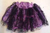Martha Stewart Pet Dog Apparel Costume Purple Skirt With Bats