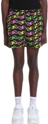 Versace Shorts In Black Polyester