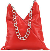 MM6 MAISON MARGIELA chain strap tote - women - Polyester/Polyurethane/Viscose/copper - One Size