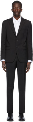 Lanvin Black Wool Suit